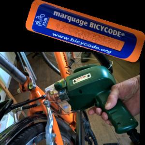 Gravage de vélos